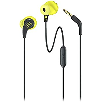 ddbf90e6d7a JBL Endurance Run Sweat-Proof Sports in-Ear Headphones with One-Button  Remote and Microphone (Yellow)JBL Endurance Run Sweat-Proof Sports in-Ear  Headphones ...