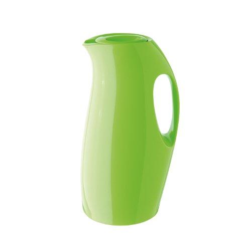 Helios 5614-126 pichet isotherme, 0,9 l, plastique, vert kiwi, 14,4 x 14,5 x 26,1 cm