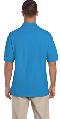 U-SHOT Herren Short Sleeve Regular Fit Tops Casual Polo Shirts Saphir