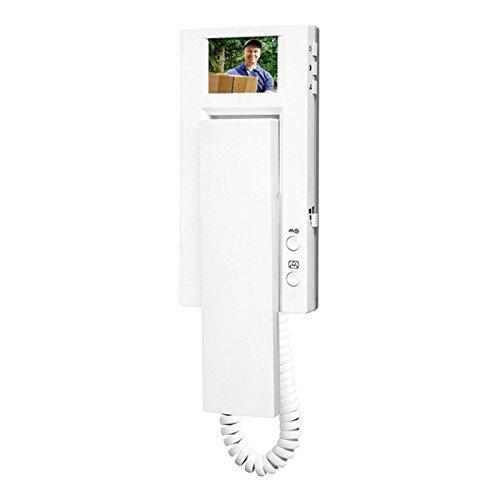 Videocitofono aggiuntivo via cavo smartwares vd60sw (1000043793)