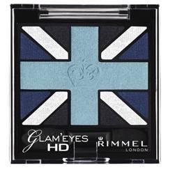 Rimmel London Glam Eyes HD Quad Lidschatten 003 Royal Blue -