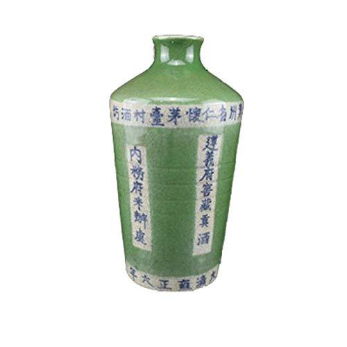 Fashion158 Qing Yongzheng Maotai Gong Weinflasche, antikes Porzellan, Wohnaccessoires