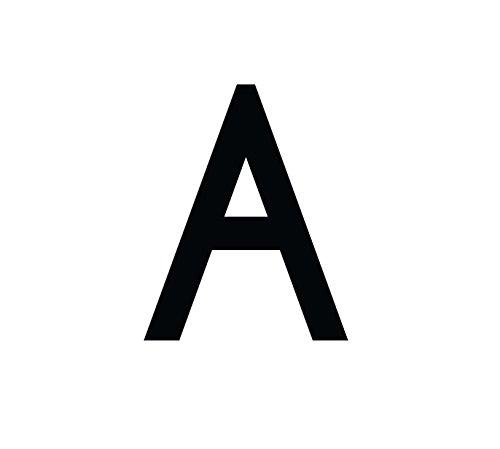 Buchstaben Aufkleber, wetterfest, einzelner Buchstabe