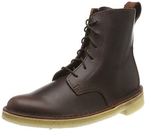 Clarks Damen Mali. Desert Boots, Braun (Chestnut Leather Chestnut Leather), 39 EU -