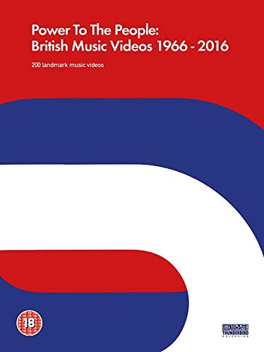 Power To The People: British Music Videos 1966 - 2016 [DVD] [2017]
