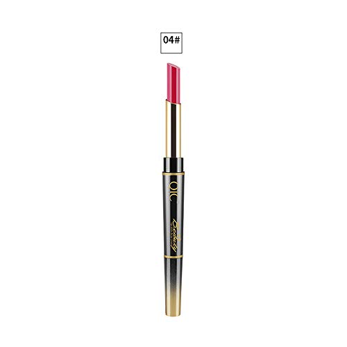 Double-end Lasting Lipliner Waterproof Lip Liner Stick Pencil 14 Color(D)