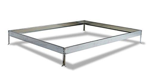Metall-Fundament für Das Gewächshaus Basic 4,75 qm