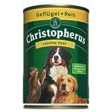 Allco Christopherus Geflügel & Reis pur Schonkost 400 g, Futter, Tierfutter, Nassfutter für Hunde