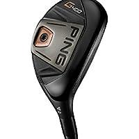 Ping Men's RH G400 Hybd 19 Standard Tour Velvet Golf Iron, White, Medium