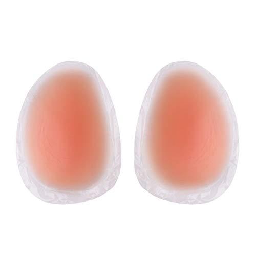 dPois Unisex Butt Pads Push-up Butt Lifter Butt Enhancer Bodyshaper Pads Shapewear Po Einlagen Gefälschte Pads Vergrößerung für Höschen Unterwäsche Unterhosen Nude One Size