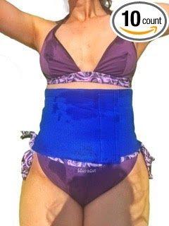 Producto nuevo Super reductora cintura cinturón-Wrap barriga y mejorar Belly Line-este AB corsé para todos los tamaños de hasta 42pulgadas-Perder pulgadas y peso eliminar grasa estómago ahora