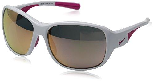 Nike Herren Sonnenbrille Vision Exhale R white/vivid pink