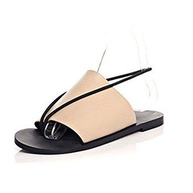 LFNLYX Donna tacchi Primavera Estate Autunno La comodità di Glitter Casual Stiletto Heel altri nero rosa rosso argento a piedi Black