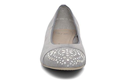 ara , Chaussures de ville à lacets pour femme gris stahl Weite F1/2 stahl Weite F1/2