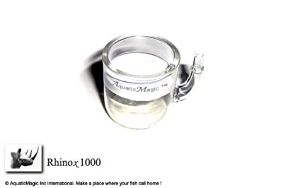 Rhinox 1000 - Glass Reactor for Aquarium Plants CO2 Diffuser Pollen Aquarium Ada Beetle