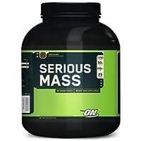 Optimum Nutrition - Serious Mass sabor Fresa 2720g M
