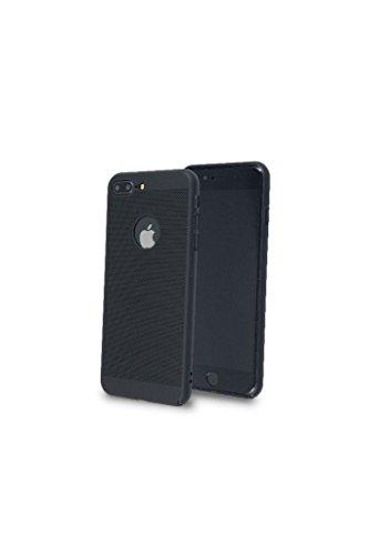iPhone 8 Plus Hülle - iPhone 7 Plus Hülle, Hard PC Dünn, Schwarz
