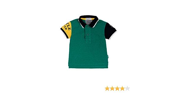 GULLIVER Toddler Boy Short Sleeve Polo Shirt T-Shirt Top Green Cotton Kids Summer for 9-24 Months