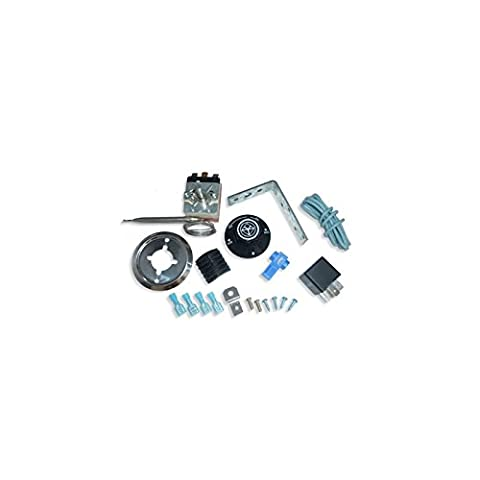 Variable Thermostat Tempature Control Kit Radiator Cooling Fans