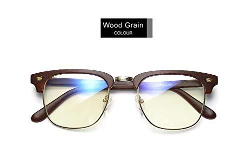 GPZFLGYN Anti-Blau Computer Gläser Anti-Fatigue Anti Blue Ray Klare Linse Gefälschte Brille Männliche Schutzbrille Titan Rahmen Lesecomputer