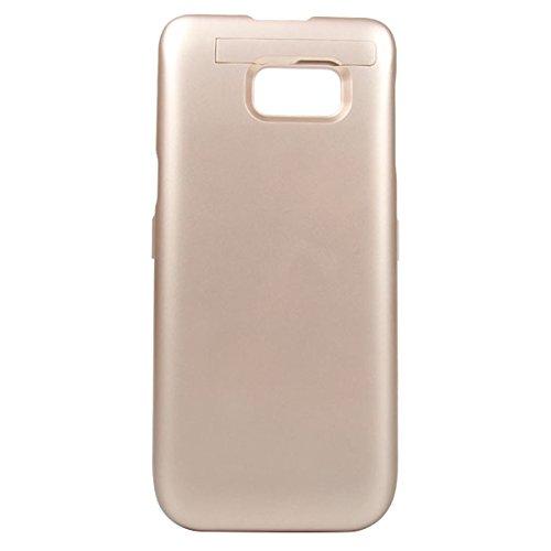 jia610203 Cover Batteria per Samsung Galaxy S6 Edge Plus 5200mAh , Custodia Ricaricabile Cover Caricabatterie Batteria Esterna Battery Case per Samsung Galaxy S6 Edge Plus 5200mAh