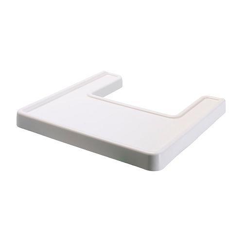 ANTILOP - Tablett für Babyhochstuhl, weiß