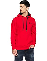 Under Armour Rival Fitted Pull Over Sudadera, Hombre