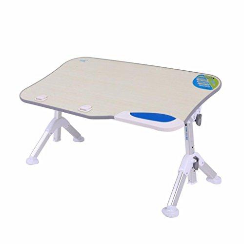 Lacaca vassoio da letto, portatile, pieghevole e regolabile in piedi scrivania, divano pieghevole tavolo supporto per notebook, lettura Communication