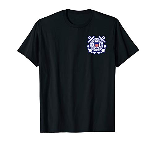 US Coast Guard Homeland Security Military Veteran T-Shirt -