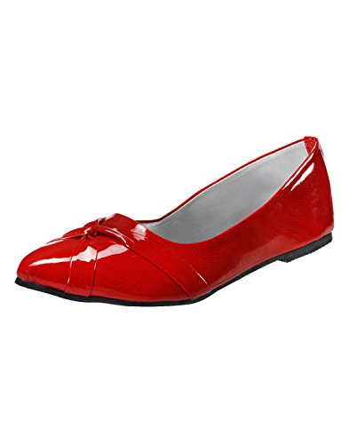Yepme Women's Red Synthetic Bellies YPWFOOT7925_5  available at amazon for Rs.299