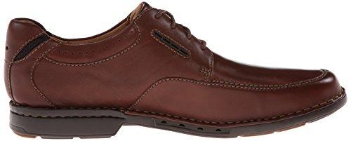 Clarks Mens Un.Corner Time Brown Leather