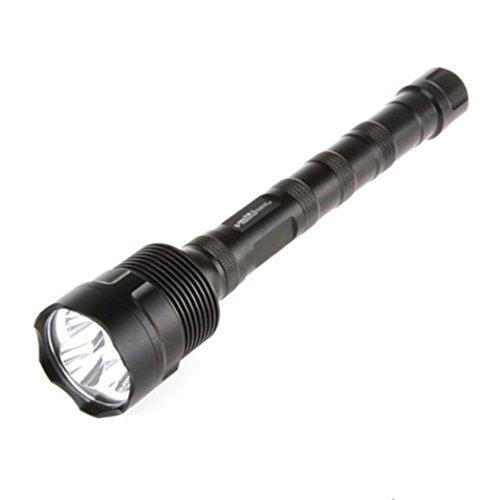 Hat White Shadow (Taschenlampe, bbring 3800Lumen 3x CREE XM-L T6LED Taschenlampe Taschenlampe mit 3x 18650Akku)