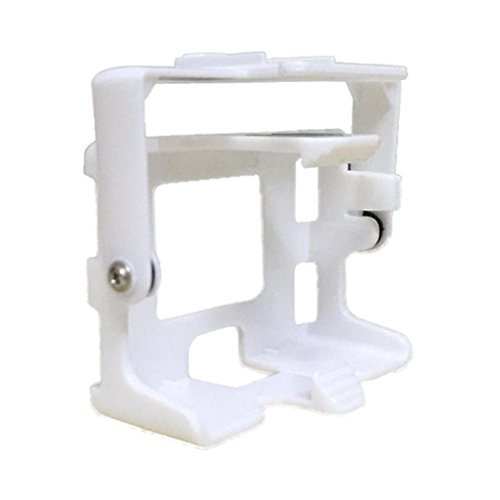 Hunpta Für MJX X 101 Kamera Halter Rahmen kompatibel mit SJ/GoPro/XIAOYI EKEN Kamera Ersatzteile RC Drohne Gimble Quadcopter Gimbal (Weiß)