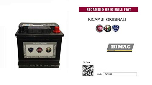 Batteria 12v 50Ah 360A Polo POS DX 207x175x190