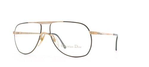 Christian Dior Herren Brillengestell Gold Gold Black (Eyeglasses Dior Black Christian)