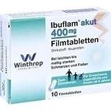 Ibuflam akut 400 mg, 10 St. Filmtabletten