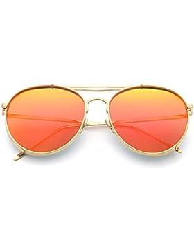 Las señoras coloridas gafas de sol de moda/Estrellas gafas de sol polarizadas/Espejo de rana pareja coreana