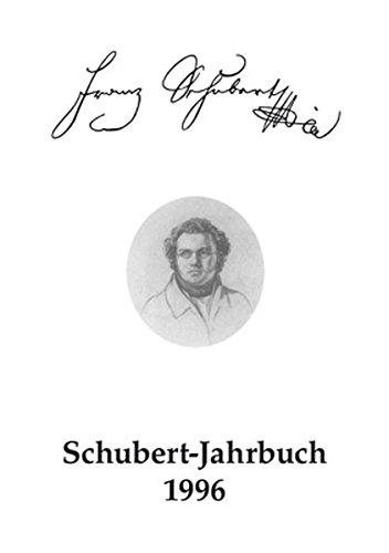 """Schubert-Jahrbuch: Bericht von der Tagung """"Schubert-Aspekte"""", Xanten, 2. und 3. März 1995: 1/1996"""