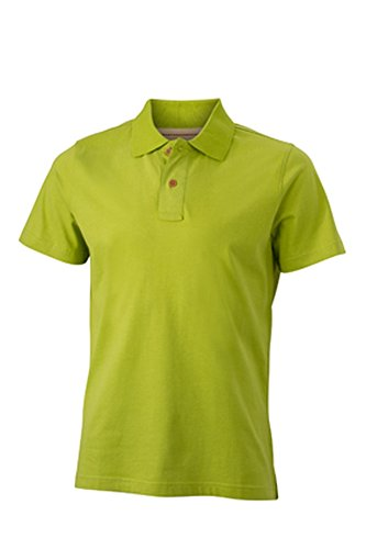 Men's Vintage Polo im digatex-package lime-green
