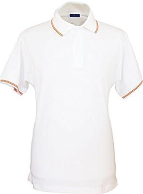 Pi2010 - Polo con cuello con bandera de España para Hombre