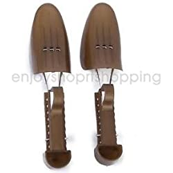Alcoa Prime Pair of Women Plastic Shoes Stretchers Tree Keeper Adjustable US Size 5-8.5