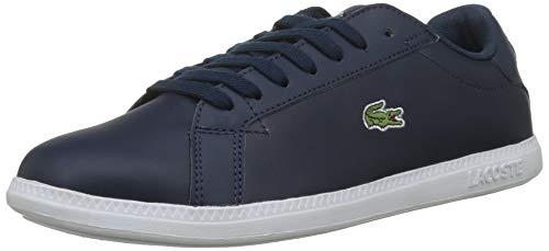 Lacoste Damen Graduate BL 1 SFA Sneaker, Blau (Navy/White), 39 EU