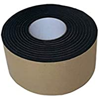 ULTECHNOVO Cinta de esponja a prueba de golpes eva de un solo lado de 5 mm de grosor Cinta de esponja adhesiva de sellado adhesiva de espuma de un solo lado a prueba de golpes