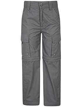 Mountain Warehouse Pantalón Convertible Active para niños - Pantalón Ligero para niños, pantalón de Secado rápido...
