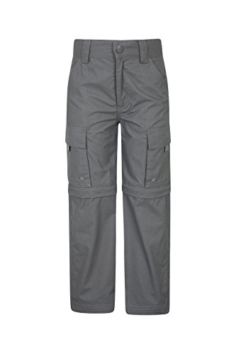 Mountain Warehouse Active Kids Convertible Trousers -Lightweight Childrens Trousers, Fast Dry Trousers, Pockets, Easy Care Casual Bottoms - for Camping, Travelling