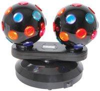 Dual rotierenden Disco Balls, Freistehend (Produkt Code: 51153p153.150) (Qtx Light)