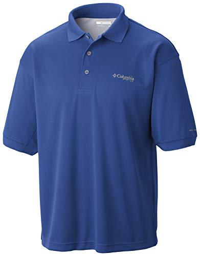 ekt Guss Polo Shirt, Herren, Perfect Cast Polo, Lebhaftes Blau, XL Tall ()