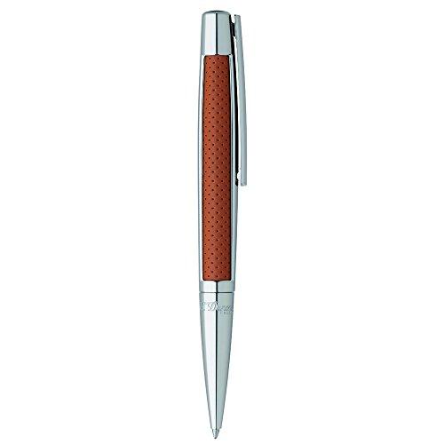 st-dupont-d-405715-defi-stylo-a-bille-en-cuir-marron