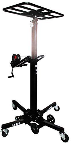 KSF AL330 | Montagelifte mit Plattform, Tragbarer Montagelifter, Markisenlift Storenlift, Pergola Terrassendächer Lift, Montagelifter für Klimaanlagen u. Lüftungsbau (3.30m, 110kg)