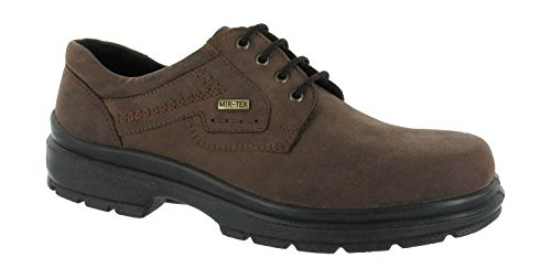 Cotswold Mens Shipston Crazy Horse Waterproof Leather Lace Up Casual Shoe Tan